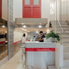 Tales Khaosan Hostel Бангкок интерьер отеля фото 3