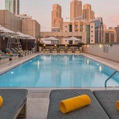 Отель Wyndham Dubai Marina Дубай фитнесс-зал
