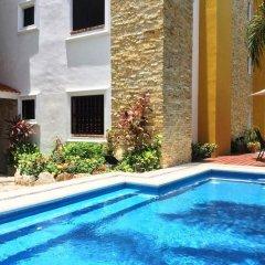 Отель Las Golondrinas Плая-дель-Кармен бассейн фото 2