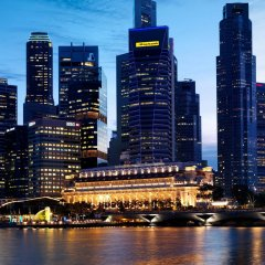 The Fullerton Hotel Singapore городской автобус