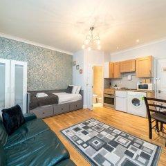 Апартаменты Luxury Studio Apart Piccadilly Circus Лондон комната для гостей фото 4