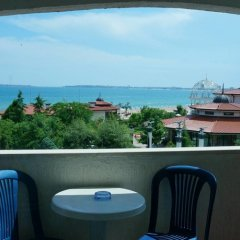 Отель Bora Bora Болгария, Солнечный берег - отзывы, цены и фото номеров - забронировать отель Bora Bora онлайн балкон