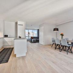 Апартаменты Forenom Serviced Apartments Oslo Majorstuen в номере фото 2