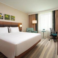 Гостиница Хилтон Гарден Инн Москва Красносельская 4* Стандартный номер разные типы кроватей
