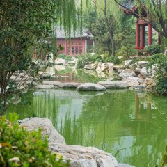 Отель Jinqiu Yixinyuan Hotel Китай, Сиань - отзывы, цены и фото номеров - забронировать отель Jinqiu Yixinyuan Hotel онлайн приотельная территория