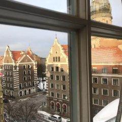 Отель «Дизайнапартментс» Латвия, Рига - 5 отзывов об отеле, цены и фото номеров - забронировать отель «Дизайнапартментс» онлайн балкон