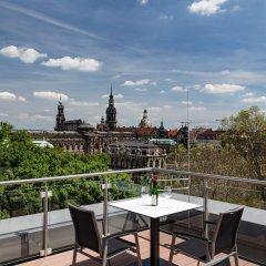 Отель Residenz am Zwinger балкон