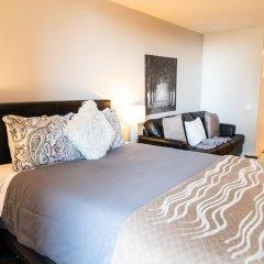 Отель DTLA Condos by Barsala комната для гостей