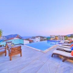 Villa Stark Турция, Калкан - отзывы, цены и фото номеров - забронировать отель Villa Stark онлайн бассейн фото 2