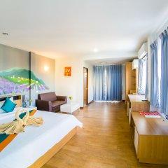 Отель Sea Breeze Jomtien Residence Таиланд, Паттайя - отзывы, цены и фото номеров - забронировать отель Sea Breeze Jomtien Residence онлайн комната для гостей фото 2