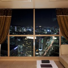 Отель Brown Suites Seoul Южная Корея, Сеул - 1 отзыв об отеле, цены и фото номеров - забронировать отель Brown Suites Seoul онлайн балкон
