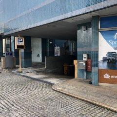 Отель Apa Toyama - Ekimae Тояма парковка