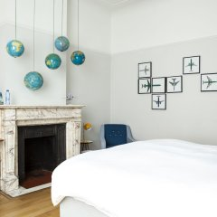 Отель Chambre dhôtes Zita Brussels комната для гостей