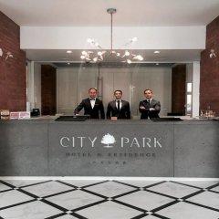 Отель City Park Hotel & Residence Польша, Познань - отзывы, цены и фото номеров - забронировать отель City Park Hotel & Residence онлайн интерьер отеля
