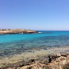 Отель Villa Andriana пляж
