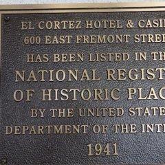 Отель El Cortez Hotel & Casino США, Лас-Вегас - 1 отзыв об отеле, цены и фото номеров - забронировать отель El Cortez Hotel & Casino онлайн фитнесс-зал фото 3