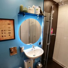 Отель Dream & Relax Apartment's Messe Германия, Нюрнберг - отзывы, цены и фото номеров - забронировать отель Dream & Relax Apartment's Messe онлайн ванная фото 2