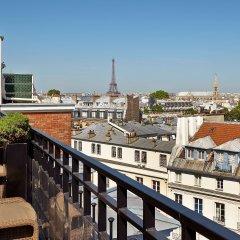 Отель Hôtel Pont Royal балкон