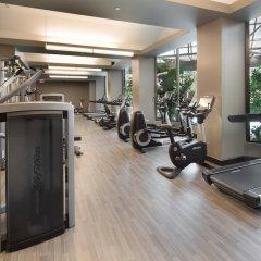 Отель Crystal Gateway Marriott США, Арлингтон - отзывы, цены и фото номеров - забронировать отель Crystal Gateway Marriott онлайн фитнесс-зал фото 2