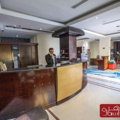 Отель Al Jawhara Metro Дубай интерьер отеля фото 2