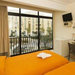 Отель Rokna Hotel Мальта, Сан Джулианс - 1 отзыв об отеле, цены и фото номеров - забронировать отель Rokna Hotel онлайн комната для гостей фото 2