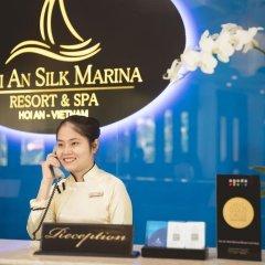 Отель Hoi An Silk Marina Resort & Spa Вьетнам, Хойан - отзывы, цены и фото номеров - забронировать отель Hoi An Silk Marina Resort & Spa онлайн интерьер отеля фото 2