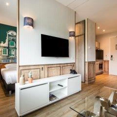 Отель Amsterdam ID Aparthotel Нидерланды, Амстердам - отзывы, цены и фото номеров - забронировать отель Amsterdam ID Aparthotel онлайн комната для гостей фото 5