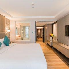Отель Citrus Suites Sukhumvit 6 By Compass Hospitality Бангкок комната для гостей