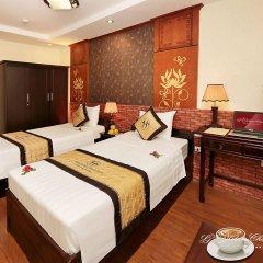 Отель Hanoi Golden Charm Hotel Вьетнам, Ханой - отзывы, цены и фото номеров - забронировать отель Hanoi Golden Charm Hotel онлайн комната для гостей фото 2