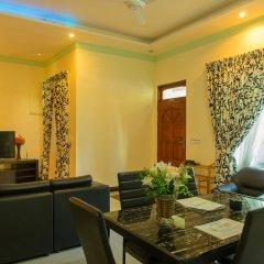 Отель Charming Holiday Lodge Мальдивы, Хулхудху (Атолл Адду) - отзывы, цены и фото номеров - забронировать отель Charming Holiday Lodge онлайн Хулхудху (Атолл Адду) комната для гостей фото 3