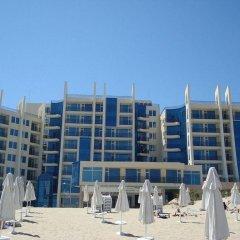 Отель Blue Pearl Hotel- Ultra All Inclusive Болгария, Солнечный берег - отзывы, цены и фото номеров - забронировать отель Blue Pearl Hotel- Ultra All Inclusive онлайн пляж фото 2
