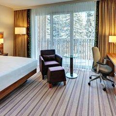 Отель Hilton Garden Inn Davos Швейцария, Давос - отзывы, цены и фото номеров - забронировать отель Hilton Garden Inn Davos онлайн комната для гостей фото 3
