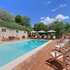Отель Borgo Acquaiura Сполето бассейн фото 2