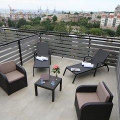 Апартаменты Continental Apartments балкон