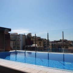 Отель Catalonia Albeniz Барселона бассейн фото 2