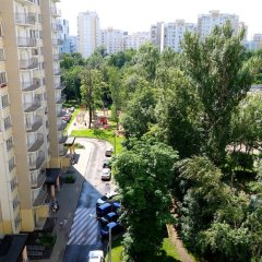 Апартаменты LUXKV Apartment on Rublevskoe shosse 95 балкон
