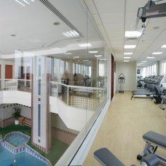 Отель Ramada Beach Аджман фитнесс-зал