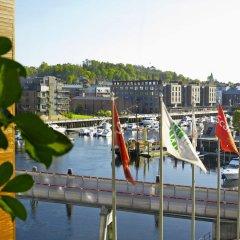 Отель Scandic Nidelven Норвегия, Тронхейм - отзывы, цены и фото номеров - забронировать отель Scandic Nidelven онлайн приотельная территория фото 2