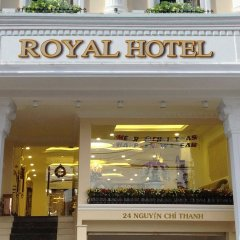 Отель Royal Dalat Далат вид на фасад