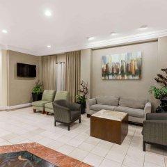 Howard Johnson Inn Fullerton Hotel and Conference Center интерьер отеля