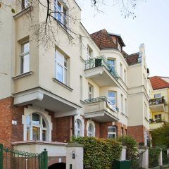 Апартаменты Elite Apartments Sopot Admiralski Сопот вид на фасад