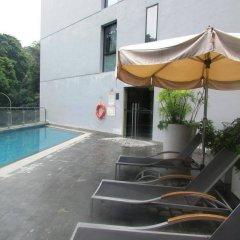 Отель Travelodge Harbourfront Singapore бассейн фото 2