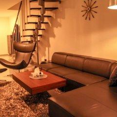 Отель BlueStone Boarding Apartments Германия, Дюссельдорф - отзывы, цены и фото номеров - забронировать отель BlueStone Boarding Apartments онлайн комната для гостей фото 5