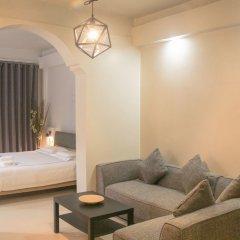 Отель Meet Inn @ Silom Таиланд, Бангкок - отзывы, цены и фото номеров - забронировать отель Meet Inn @ Silom онлайн комната для гостей фото 2