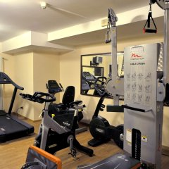 Santa Barbara Hotel Сан-Донато-Миланезе фитнесс-зал фото 2