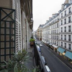 Отель Charming Bonaparte балкон