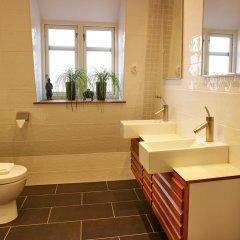 Отель CheckInn Bed & Breakfast Швеция, Лунд - отзывы, цены и фото номеров - забронировать отель CheckInn Bed & Breakfast онлайн ванная фото 2