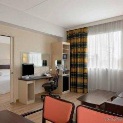 Отель Hilton Garden Inn Rome Airport Италия, Фьюмичино - 2 отзыва об отеле, цены и фото номеров - забронировать отель Hilton Garden Inn Rome Airport онлайн комната для гостей фото 2