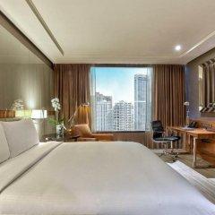 Отель Hilton Sukhumvit Bangkok Таиланд, Бангкок - отзывы, цены и фото номеров - забронировать отель Hilton Sukhumvit Bangkok онлайн комната для гостей фото 2