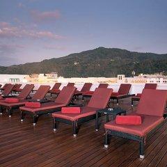 Отель Paripas Patong Resort Пхукет приотельная территория